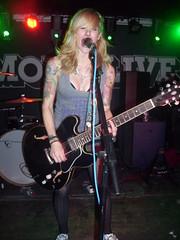 Sarah Sin 6 (alicia_rebecca) Tags: uk music manchester concert guitar live livemusic rockabilly psychobilly thecreepshow sarahblackwood