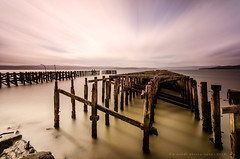 Firth of Clyde (w.mekwi photography [on the road]) Tags: longexposure water scotland pier le dirtywater firthofclyde craigendoran lee09gnd nd110 nikond7000 lee06gndhard 10stopper wmekwiphotography mekwicom vivezapro2