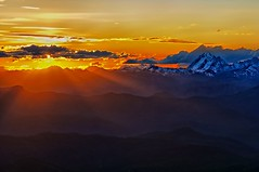 Fire & Ice (Phil's Pixels) Tags: sunset washington dusk rays ellensburg lionrock mtstuart theenchantments