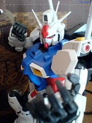 PG Gundam Gp01 - Zephyrantes (triggerfinger_lie) Tags: toys akiba gundam   gunpla  toyphotography zephyrantes perfectgradegundam lovetoys gundamgp01 gunplakit hobbytoys gunplaplamo tamankopoindahiii