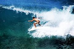 Honolua Bay Surfer (pete4ducks) Tags: travel water island hawaii surf waves surfer maui pacificocean cropped aviary 2012 honoluabay