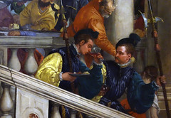 "Detail of ""germans"" Paolo Veronese, Feast in the House of Levi"