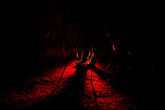 red shadowd legs (RadarOReilly) Tags: underworld laird iserlohn unterwelt dechenhhle