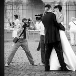 Newlyweds in mono (is better?) thumbnail