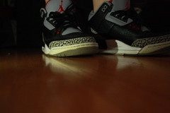 Walking in Someones Shoes (Peyrulesd00d) Tags: black photography shoes cement boyfriends someone 3s elses