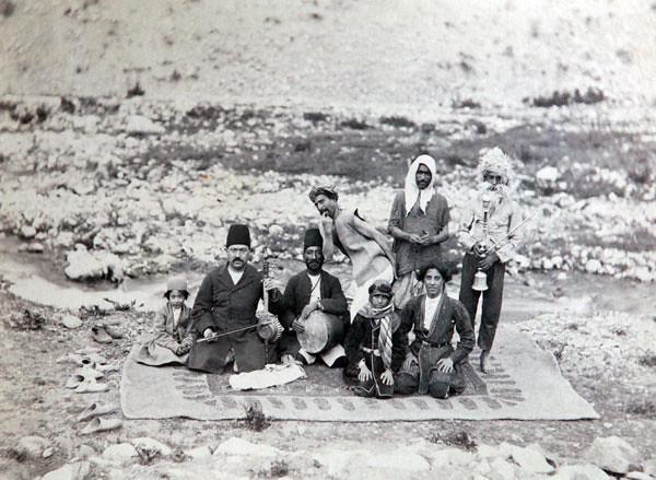 Персия, Иран, история, Каджары, Насреддин-шах, фото, фотография, историческая фотография