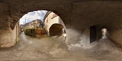 More Prota Passageways (Garret Veley) Tags: italy panorama village tuscany stitched 360x180 ptgui equirectangular prota canon15mm nodalninja3 canon5dmk2 garretveley promotecontrol