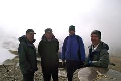 Day 3 - Tired smiles at the Top (Vertigo Rod) Tags: trip mist mountain wales walking hiking walk cymru hike snowdon summit welsh llanberis snowdonia range yr wyddfa eryri northwales