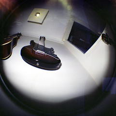 Guitar (paddlingjackdaw) Tags: lomography guitar fisheye yamaha pacifica