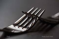 Forks (laszlofromhalifax) Tags: utensils kitchen forks