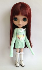 Mint Babyface sweater