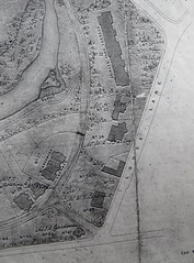"""Part of """"The Plan of the Prince's Park"""", 1857.  Original in LRO. (philipgmayer) Tags: lro map princes park toxteth 1857 lodge lane 1000"""
