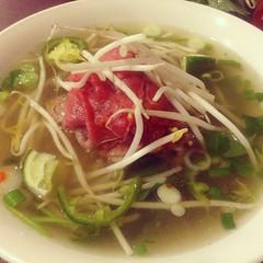 ―the last weekend of the last week (anokarina) Tags: pho vietnamese instagram foodporn appleiphone5 phoviet 365 beef tai noodles soup