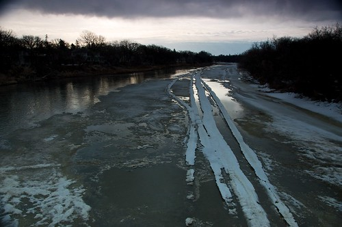 Rotten Ice on the Assiniboine River