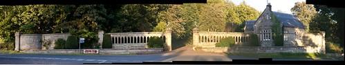 Ford Castle West Lodge & Gateway