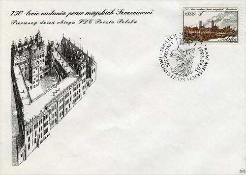 750-lecie nadania praw miejskich Szczecinowi Stettin Pommern Pomorze
