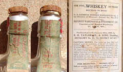 Old Pre - Prohibition / Prohibition Buffalo Springs Medicinal Whiskey Bottle / Box B (gregg_koenig) Tags: old 1920s bottle buffalo box whiskey pre springs 1915 medicinal prohibition 1900s 20s 1924