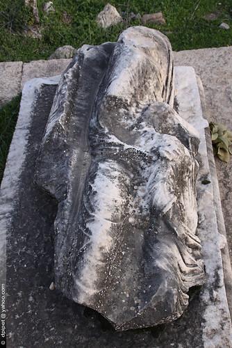 la nécropole de Hiérapolis