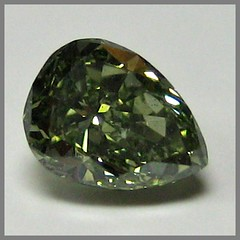 Natural Fancy deep grayish yellowish Green Chameleon Diamond, GIA pear, N29-85/3, 0.33 ct () Tags: diamond pear gia chameleon brilliant greendiamond naturalcolor fancycolordiamond naturaldiamond olivediamond naturalfancycolordiamond