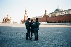 police (f x d b b b t) Tags: kodak russia iso400 moscow police contax portra t2