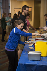Hot Dog Study Break_051213_0003 (Luther College _ Photo Bureau) Tags: dog hot college zach spring student break towers miller study finals week zachary professor professors volunteer faculty semester luther volunteerism 2013 dieseth stottler 20122013
