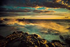 LDURT / HIGH SEAS (HPHson) Tags: iceland rocks waves shore strnd longexp klettar ldur hphson tmataka slta99