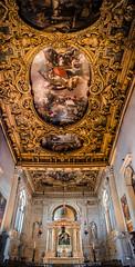 Victorious (campra) Tags: venice italy gold italia basilica mary jesus ceiling rosario rosary venezia lepanto giovanniepaolo capelladelrosario