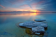 sunset (dx247) Tags: sunset ontario sandbank cpl singhraygnd leeholder