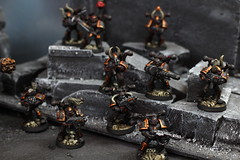 Chaos Space Marines 01 JARS (Blue Table Painting) Tags: chaos space 40k warhammer marines