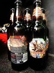 An army of Troopers (stavioni) Tags: beer rock metal real bottle iron bruce ale brewery heavy maiden robinsons dickinson