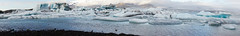 Jkulsrln Panorama (RobOutar) Tags: city autumn mountains fall water landscape volcano waterfall iceland october sony rob glacier geyser 2012 outar a55