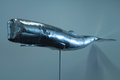 The whale 3 (michael.blackam) Tags: sculpture metal whale leviathan aluminium mobydick spermwhale riveted