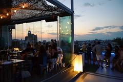 (claudiagomlop) Tags: madrid circulo de bellas artes lights people life lifestyle luces anochecer dinner bar familia