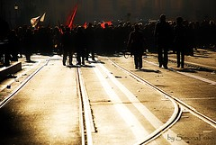 Demonstration (Simona Fuso) Tags: demonstration photo simona fuso street streetphotografy roma corteo manifestazione