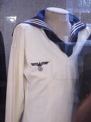 Nazi sailor shirt (quinet) Tags: 2013 austria autriche heeresgeschichtliches kostum museumofmilitaryhistory nazi swastika vienna vienne wien costume uniforme uniforms sterreich