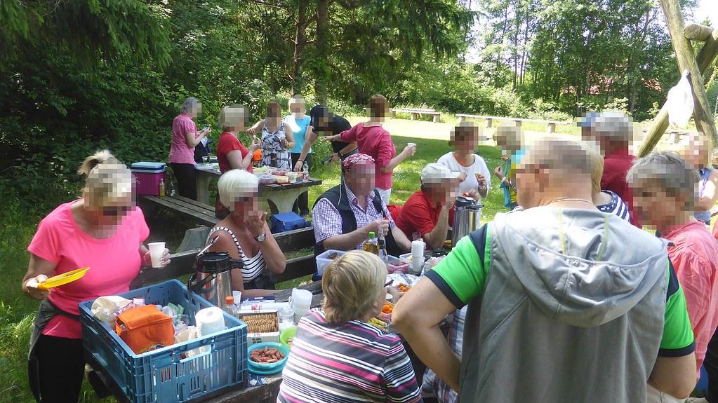 Draisinenfahrt Rahden unser Picknick 08.06.15 (8)_