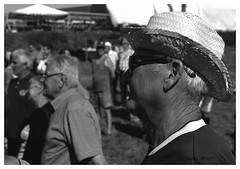 """Au Pardon de Saint-Laurent.. M. Habana Club"" (The Blue Water Lily's Company) Tags: afd fdrouet blackandwhite noiretblanc blancoynegro biancoenero nb bw monochrome monochrom nikon f801s nikkor 50mm18 scan epson v370 ilford fp4 portrait retrato lc29 bretagne brittany breton grain rural"