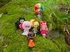 The Obnoxious Six! (Helena / Funny Bunny) Tags: funnybunny blythe petite yarnhead yarnheads littleretromama bettyannsdiner