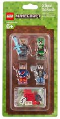LEGO Minecraft 853609 Skin Pack (hello_bricks) Tags: minecraft lego legominecraft 853610 853609 skinpack toy toys minifig minifigures minifigure