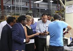 IMG_1053  Premier Kathleen Wynne toured RAM Plastics in Scarborough. (Ontario Liberal Caucus) Tags: scarborough industry thiru smallbusiness business