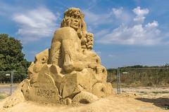 029 - Burgas - Sand Sculptures Festival 2016 - 24.08.16-LR (JrgS13) Tags: bulgarien filmhelden outdoor reisen sand sandscuplturefestivals sandskulpturenfestival urlaub burgas
