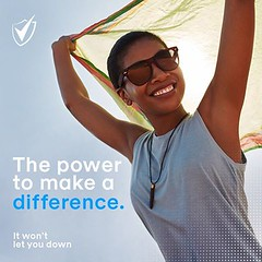 The Power to Make A Difference (shieldsouthafrica) Tags: shield domore all day deodorant protection