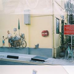 D1000005_lr (chi.ilpleut) Tags: 6x45 120 squareformat fujipro160ns film analogue ilovefilms twinlensreflex singapore august 2016 summertime oldhouse street ethnic neighbourhood outram oldest housing estates outdoor sunlight peacefulness