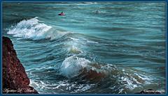 Tra le onde del mare - Agosto-2016 (agostinodascoli) Tags: onde mare estate seccagrande sicilia viaggi travel acqua spiaggia lido nikon nikkor