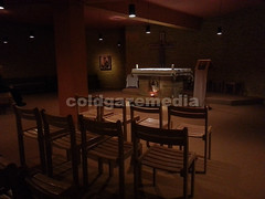 20160503_071412 (coldgazemedia) Tags: france taiz saneetloire burgundy taizcommunity communautdetaiz photobank stockphoto indoor chapel praying christianity silence