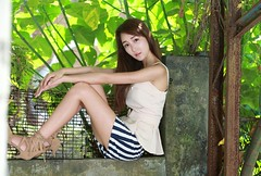 DP1U6165 (c0466art) Tags: lovely cute pretty university taiwan girl  beautiful eyes figure slim long hair sweet smile nextdoor kind charming gorgeous out door portrait light canon 1dx c0466art