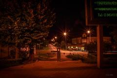Pogled na moju ulicu/ A view of my street (Kuzz1984) Tags: nightphotography no street night ulica croatia slavonija