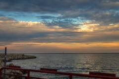 LoneSailor (jmishefske) Tags: lakeshore 2014 sailboat pentax county lakefront lakemichigan wisconsin shore sailor park milwaukee september k01 downtown
