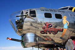 Boeing B-17 Sentimental Journey, Falcon Field AZ (breedlux) Tags: boeing b17 bomber chrome polish polishedmetal