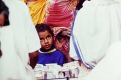S28 webboy staring at MC_0462 (kcadpchair) Tags: motherteresa missionariesofcharity calcutta kolkata lepers hansen people portrait urban poverty child youngboy younggirl volunteers kalighat